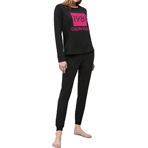 Calvin Klein Dámske pyžamo L / S Pant SetQS6347E-001 S