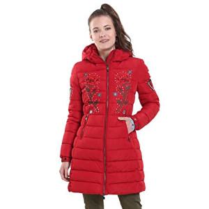 Desigual Femei de căptușeală Flash Borgona 18WWEW67 3007 Jacket 44