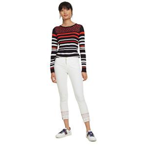 Desigual Pantaloni pentru femei Pant Miami Crudo 19SWPN14 1001 40