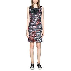 fab52cf618 Desigual Dámské šaty Vest Casey 18SWVK42 2000 M