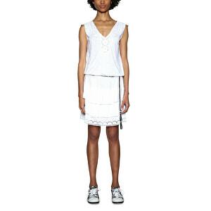 Desigual Dámske šaty Vest Castoro 18SWVK45 1000 XL f8984c8d578