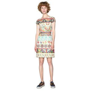 Desigual Dámské šaty Vest Elvira 18SWVKA1 1000 S