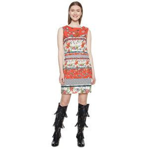 Desigual Dámske šaty Vest Karin Virtual Pink 18WWVWAA 3145 42