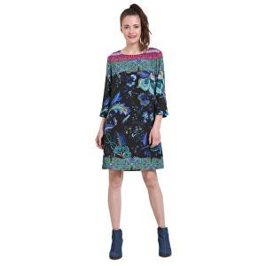 5620496b7d Desigual Dámské šaty Vest Killpop Negro 18WWVW93 2000 38