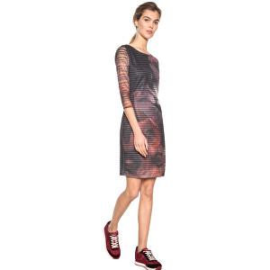 2b4a8e4c5bf5 Desigual Dámske šaty Vest Rosa Glam Rosa Glamour 18WWVK67 3044 L