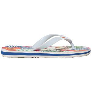 Desigual Pantofi pentru femei Shoes Flip Flop Tropical White Blanco 19SSHF17 1000 37
