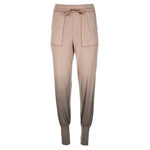 Deha Dámske tepláky Viscose Pants B84579 Shaded Walnut M