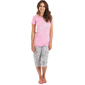 Evona Dámske pyžamo MEGAN ružové XL