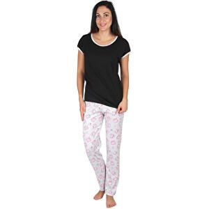 Evona Dámske pyžamo MERYL čierne XL