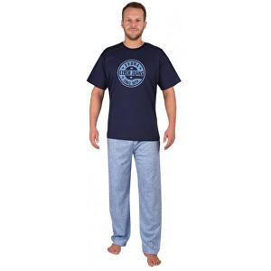 Evona Pijama pentru bărbați Jeans 1879 deschisă 1879 071 L