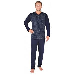 Evona Pánske pyžamo P 1903 modré kocky XXL