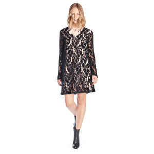 Fornarina Dámské šaty Linnet - Black Dress BI188F13H28400 M be3c99fb01