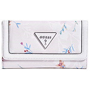Guess Portofel pentru femei Factory Women`s Braelynn Floral-Print Slim Wallet Floral