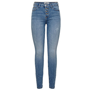 Jacqueline de Yong Blugi pentru femei JDYJONA SKINNY HIGH BUT Jeans DNB Denim Light Blue 31/32