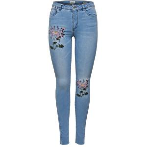 ONLY BlugiCarmen Reg Sk Emb Dnm Jeans Bj8908