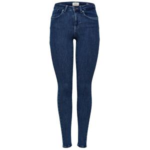 ONLY Femei Jeans ONLPOWER MID PUSH UP SK JEA REA3222 NOOS Denim Blue Dark L/34