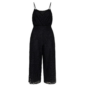 ONLY Doamnelor salopeta Cassia Strap Cropped S/L Jumpsuit Wvm Black 40