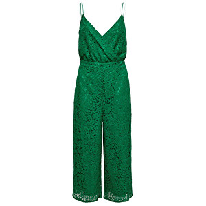 ONLY Dámský overal Cassia Strap Cropped SL Jumpsuit Wvm Ultramarine Green 42