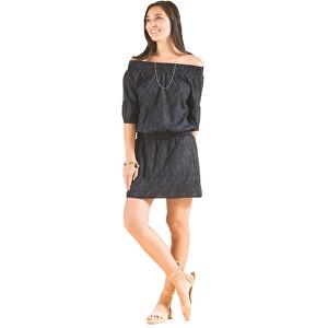 Prana Dámske šaty Lenora Dress Black Sprinkle XS affa01da536