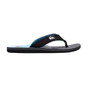 Quiksilver Flip-Flops Molokai Layback Black/Grey/Blue AQYL100784-XKSB 42