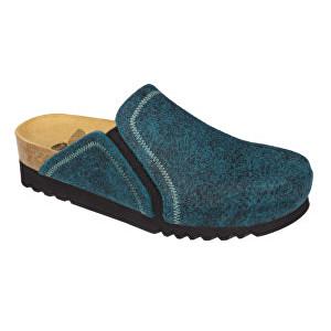 Scholl Dámské pantofle Kelsie Bioprint Emerald F272741361 37