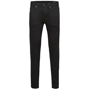 SELECTED HOMME Blugi pentru bărbați Skinny-Pete 1001 Black St Jns W Noos Black 34/32