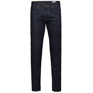 SELECTED HOMME Pantaloni Straight-Scott 1002 Rinse Jns W Noos Dark Blue Denim 36/34