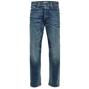 SELECTED HOMME Jeans pentru bărbați Tapered-Toby 6146 M.Blu St Jns W Noos Medium Blue Denim 36/32