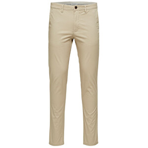 SELECTED HOMME Pánske nohavice Slim-Yard White Pepper Pants W Noos White Pepper 30-32