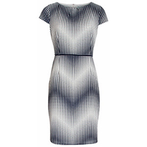 Smashed Lemon SLEVA - Dámské krátké šaty Blue 18079/03