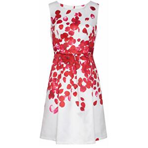 Smashed Lemon Dámské krátké šaty Red 18073/04 S