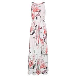 Smashed Lemon Dámske šaty 19335 White/Old Pink L