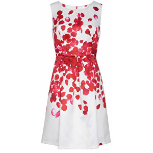 Smashed Lemon SLEVA-Dámské krátké šaty Red 18073 04 L 0c87ac9a20