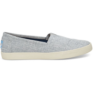 TOMS Dámske Slip-On Drizzle Grey Lurex Woven Avalon Slip-on 37