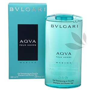 Bvlgari Aqva Pour Homme Marine - sprchový gél 200 ml