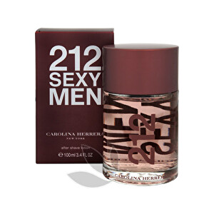 Carolina Herrera 212 Sexy For Men - voda po holení 100 ml
