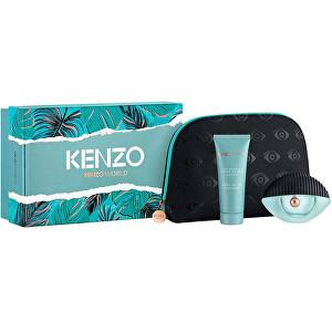 Kenzo World - EDP 50 ml + tělové mléko 75 ml + kosmetická taštička