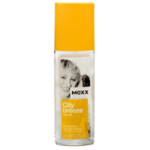 Mexx City Breeze For Her - deodorant s rozprašovačem 75 ml