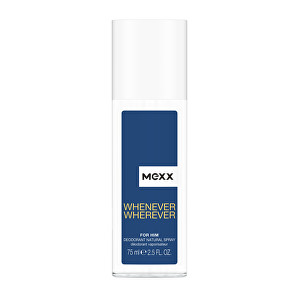 Mexx Whenever Wherever Men  deodorant s rozprašovačem 75 ml