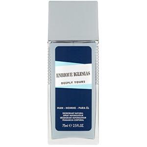 Enrique Iglesias Deeply Yours Man - deodorant s rozprašovačem 75 ml