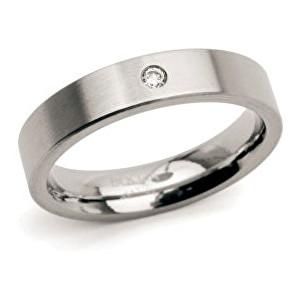 Boccia Titanium Snubný titánový prsteň 0121-04 51 mm