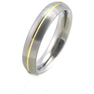 Boccia Titanium Titanový snubní prsten 0130-02 49 mm