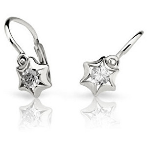 Cutie Jewellery Detské náušnice C2159-10-2 červená