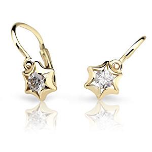 Cutie Jewellery Dětské náušnice C2159-10 bílá