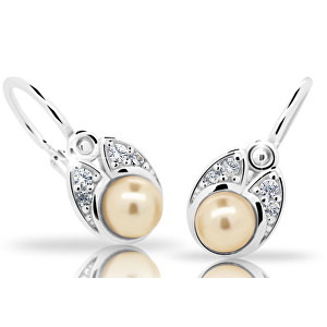 Cutie Jewellery Dětské náušnice s perlou C2254-10-C1-S-2