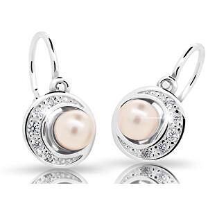 Cutie Jewellery Dětské náušnice s perlou C2256-10-C3-S-2