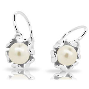 Cutie Jewellery Dětské náušnice s perlou C2396-10-C2-S-2