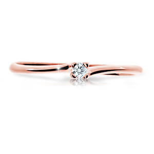 Cutie Jewellery Krásny trblietavý prsteň Z6733-2948-10-X-4