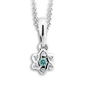 Cutie Jewellery Přívěsek C2149-40-X-2 světle zelená
