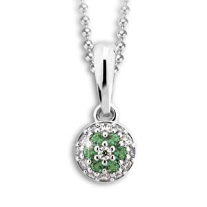 Cutie Jewellery Přívěsek C2150-40-X-2 zelená
